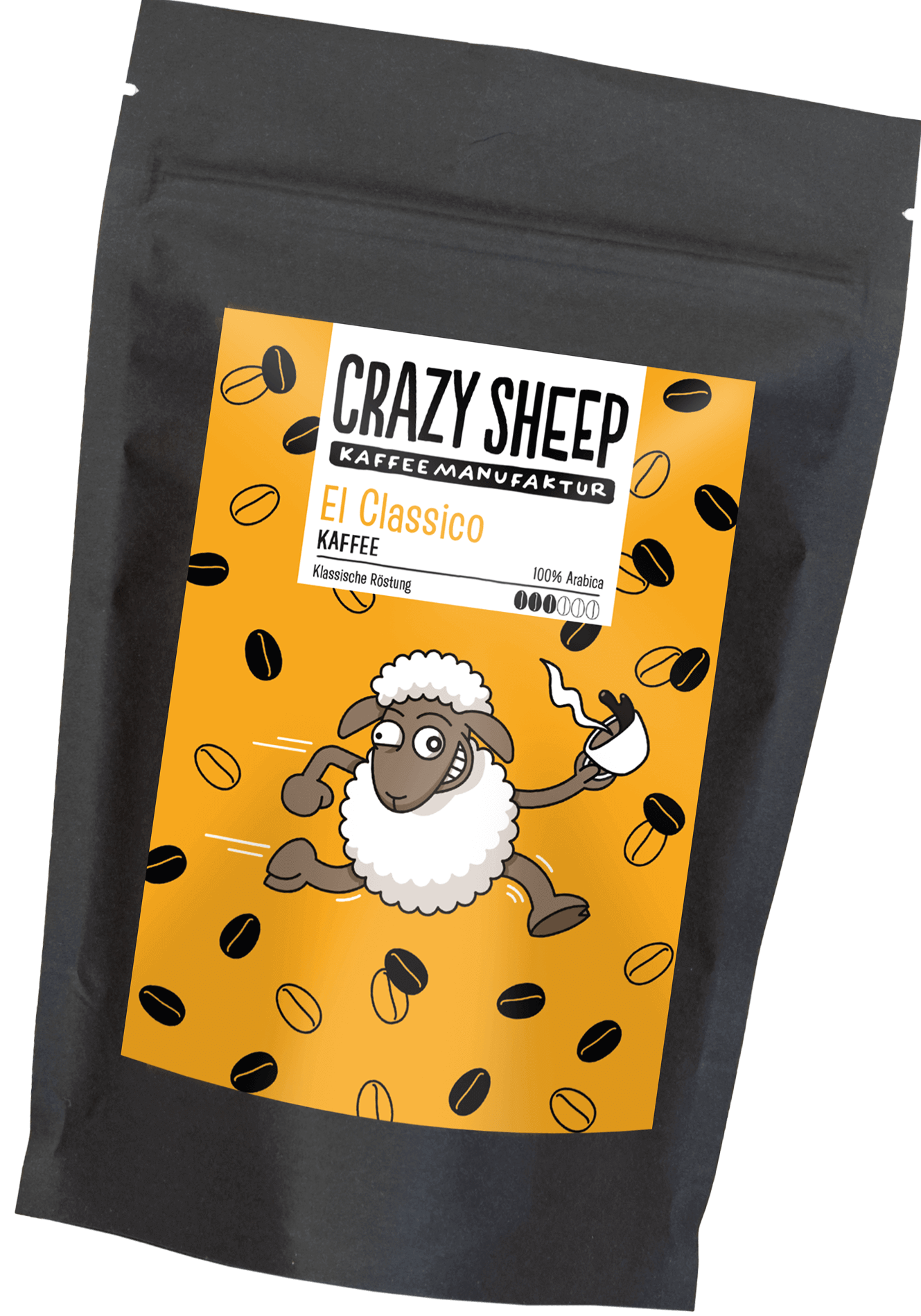 El Classico Crazy Sheep Kaffee
