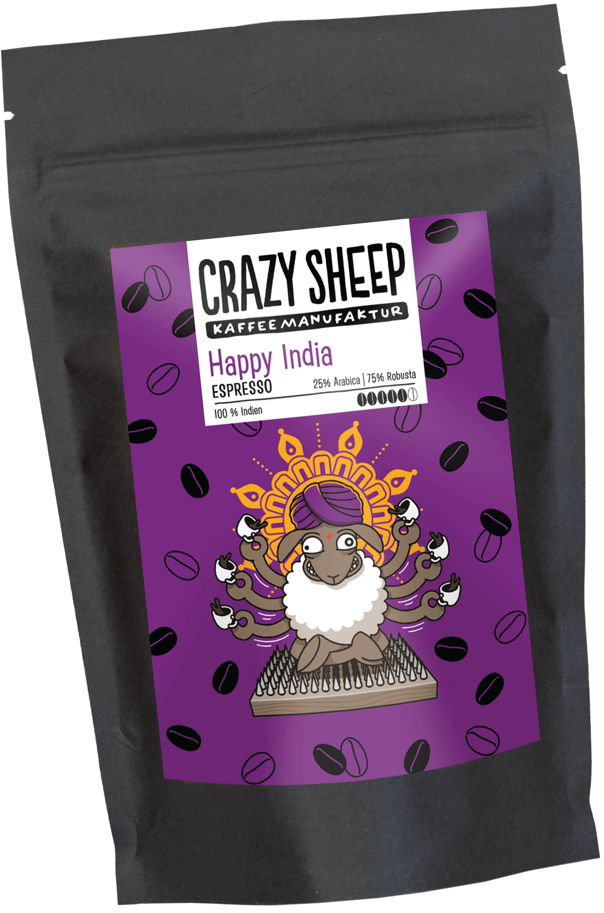 Happy India Crazy Sheep Coffee