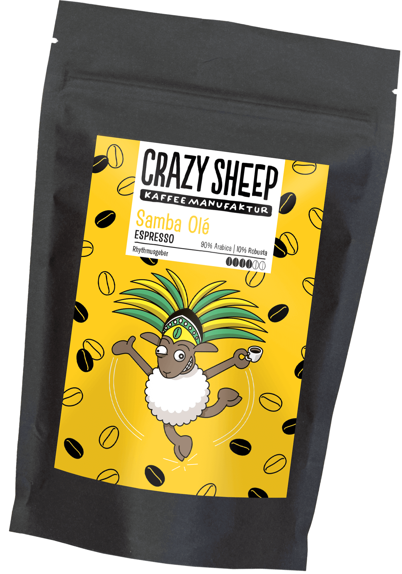Samba Olé Crazy Sheep Coffee